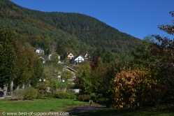 The village of La Vancelle