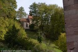 Chapel, Murbach near Guebwiller, Alsace
