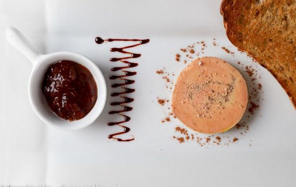 Duck foie gras by Philippe Aubron