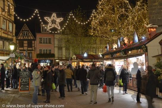 Christmas market in Colmar, Alsace