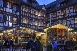 Advent (Christmas) market in Gengenbach, Germany
