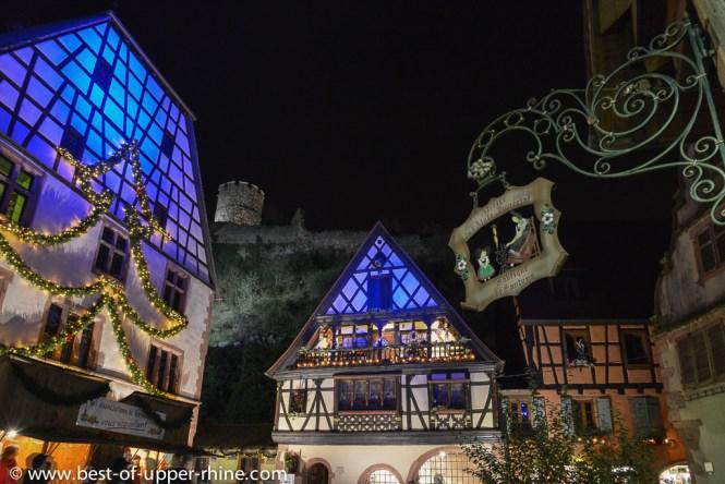 Kaysersberg, a weekend's evening in December