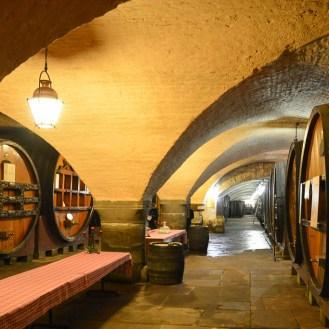 The cellar of Hospices de Strasbourg.