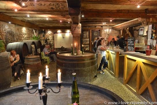 Historical cellars in Riquewihr