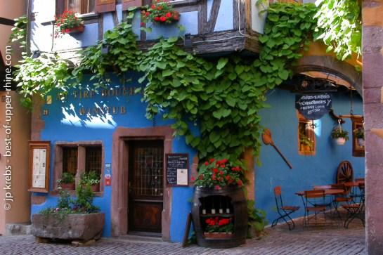 Restaurant winstub Tire-Bouchon in Riquewihr