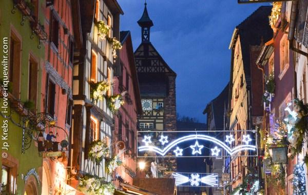 Christmas market in Riquewihr