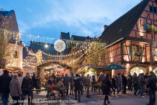 Christmas market in Eguisheim, Alsace