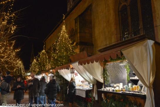 Christmas market in Kaysersberg, Alsace