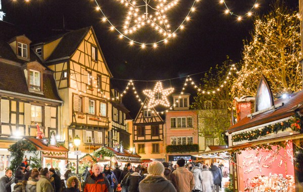 Colmar, Alsace. A stroll at the Christmas markets.