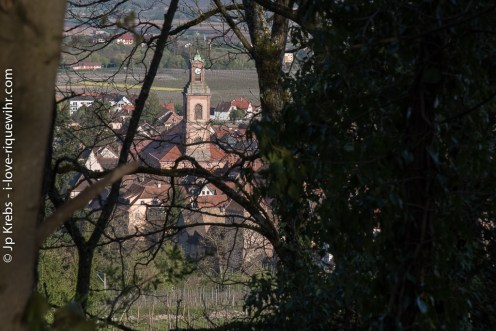 West of Riquewihr