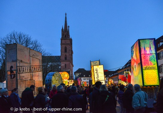Exhibition of lanterns in Basel