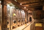 Open Cellars in Mittelbergheim: the wine cellar of the domain Wittmann.