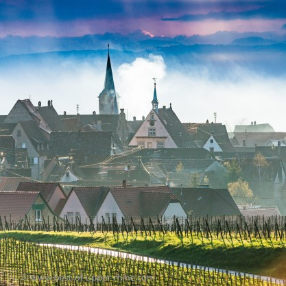 Mittelbergheim on the Alsace wine route