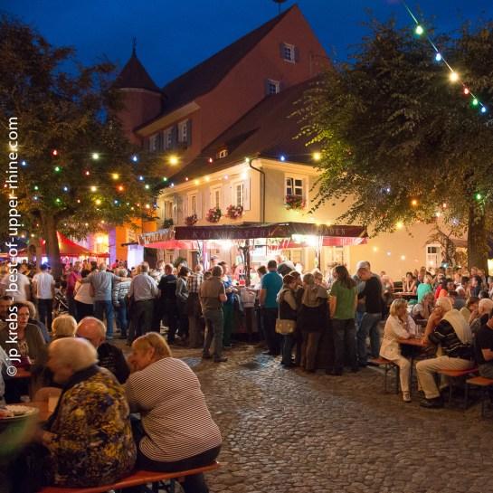 At the wine festival of Burkheim, Kaiserstuhl, Germany.