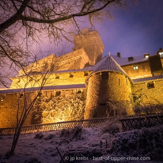 The famous castle Haut Koenigsbourg