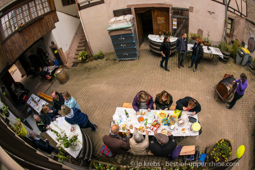 2016 Pentecostal Barbecue at Domaine Paul Fahrer in Orschwiller