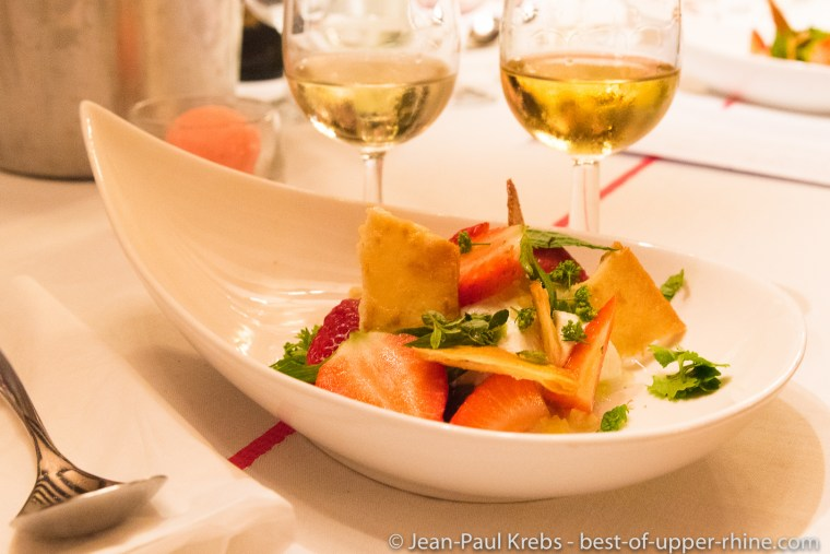 Alsace wine wonderfully paired with dessert and spices.