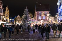 Colmar from end of November to end of January is a Christmas fairy tale