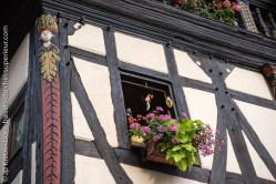 Beautiful medieval house in Kaysersberg.
