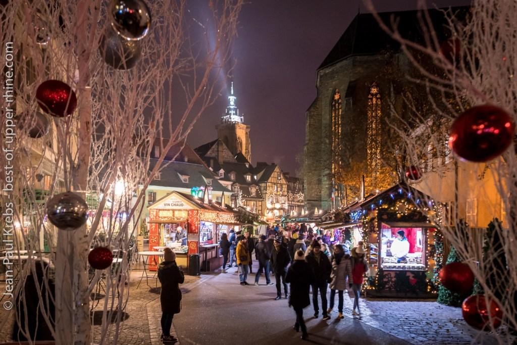Colmar romantic city at Christmas time.