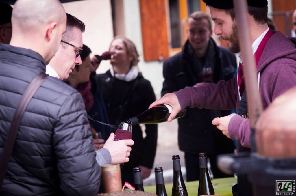Wine tasting of Dambach-la-Ville. Photo Frédéric Wurry.