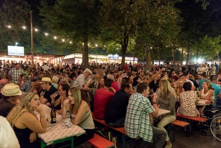 Breisach-am-Rhein Weinfest, the wine festival in Breisach.
