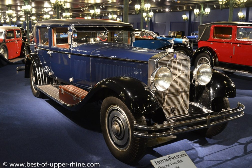The Automobile Museum in Mulhouse presents the most beautiful collection of vintage cars in the world.