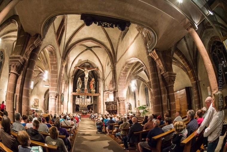 Kaysersberg summer guided tour: the church.