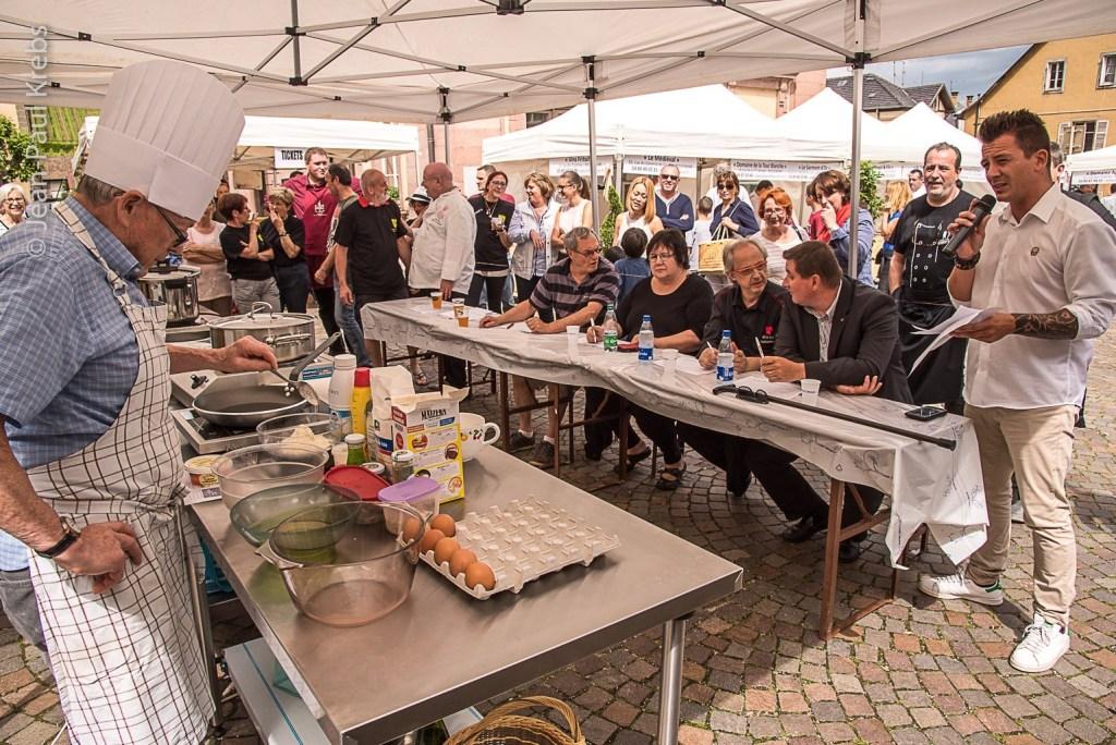 Riquewihr Knepfelfacht 2017 cooking show