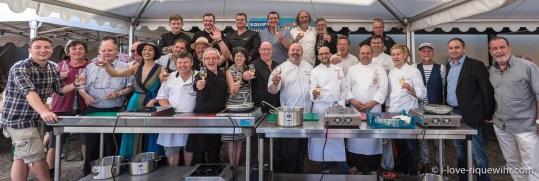Riquewihr Knepfelfacht 2016. CookShow