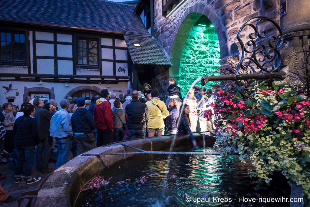 Visitors discover a lot of details and secret on Riquewihr