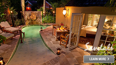 Sandals Antigua best suites