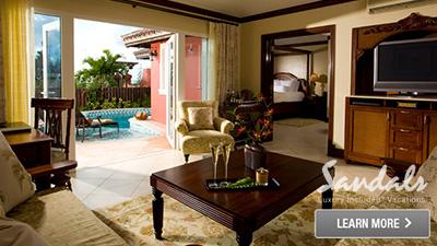 Sandals Antigua best rooms