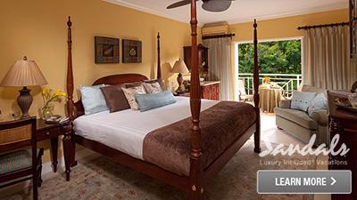Caribbean romance resort
