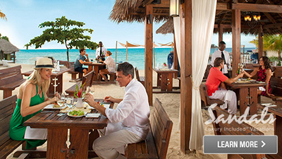 Caribbean best all inclusive resort for food