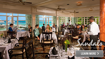 Sandals Grande Riviera Jamaica best places to eat