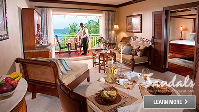 St. Lucia beachfront resort