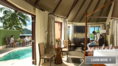 Sandals Halcyon Beach St. Lucia best suites
