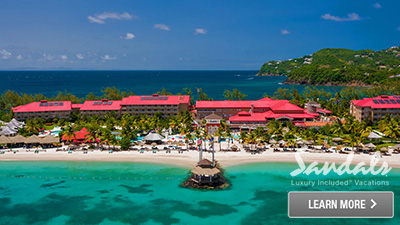Sandals Grande Saint Lucian resort