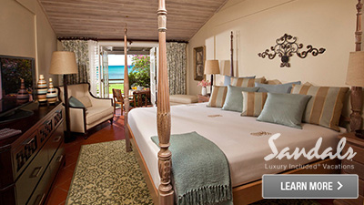 Sandals Halcyon Beach St. Lucia best hotel