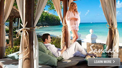 St. Lucia romance honeymoon