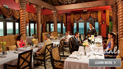 Saint Lucia all inclusive food