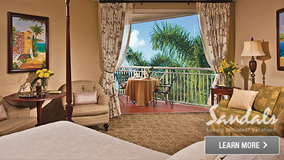 Caribbean couples honeymoon hotel