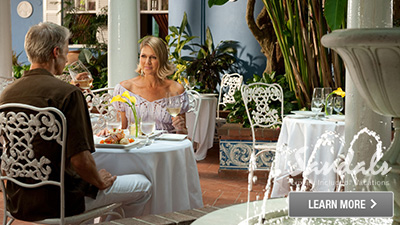 Caribbean French dining