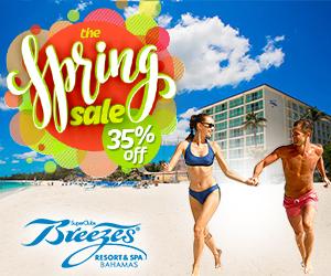 breezes spring sale bahamas