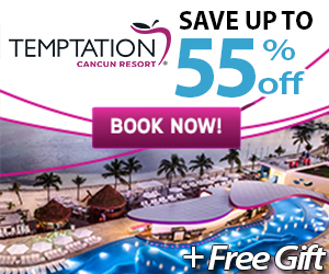 temptation best vacation deals topless resort mexico