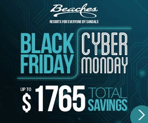 Beaches turks and caicos family resort all inclusive for Black friday vacation deals all inclusive