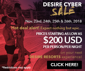 desire cyber sale topless vacation deals