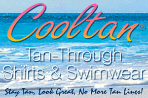 cooltan tan through swimwear