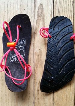 barefoot running sandals
